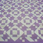 Circa 1922-1923 quilt created by husband and wife, Frank & Lillian, for their young daughter.
