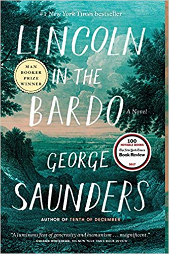 October 2019 - Lincoln in the Bardo by George Saunders