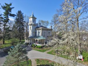 Promont, the Victorian house museum of the Greater Milford Area Historical Society
