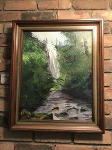Holly Lasley, Milford artist, original painting